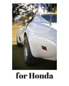 for HONDA