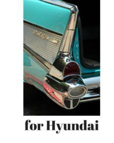 for HYUNDAI